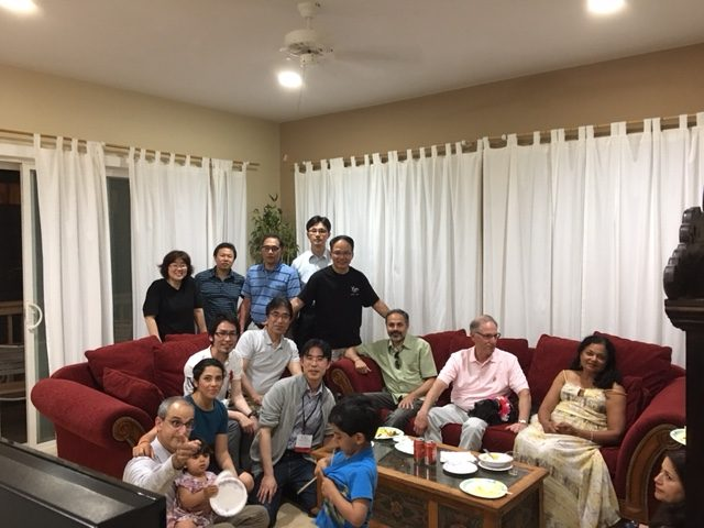 20170321 Imaging in Hawaii casual party